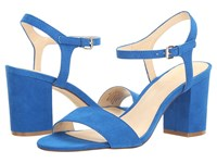 Nine West Gallmeyer Electric Blue Suede High Heels