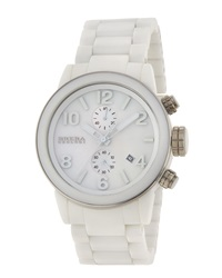 Brera Ceramic Plated Stainless Steel Chronograph Watch