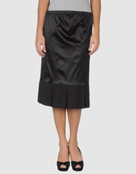 Martine Sitbon 3 4 Length Skirts Black
