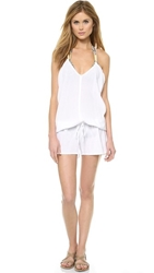 9Seed Corsica Cover Up Romper White