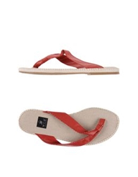 Niu' Thong Sandals Brick Red