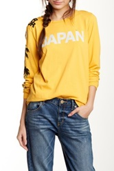 Free City Japan Long Sleeve Tee Yellow
