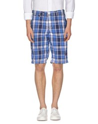 Superdry Trousers Bermuda Shorts Men Blue
