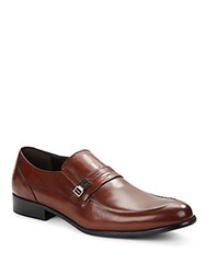 Kenneth Cole Super Chief Leather Loafers Black