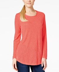 Styleandco. Style And Co. High Low Long Sleeve Tee Only At Macy's