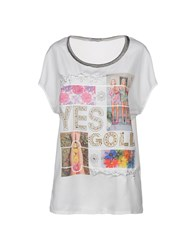 Yes Zee By Essenza Blouses White