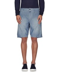 Closed Denim Denim Bermudas Men Blue