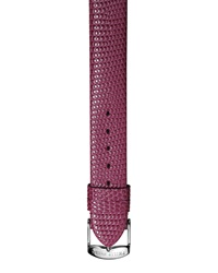 Philip Stein Teslar Philip Stein 12Mm Lizard Embossed Leather Watch Strap Purple