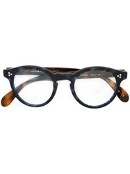 Oliver Peoples 'Feldman' Glasses Brown