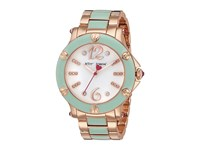 Betsey Johnson Bj00459 16 Rose Gold W Mint Enamel Rose Gold Mint Watches