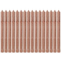 Ferm Living Uno Candles Set Of 16 Brown