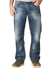 Silver Jeans Gordie Loose Fit Straight Leg Blue
