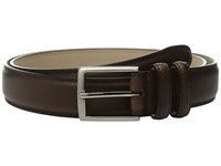 Stacy Adams 35Mm Smooth Leather Dress Belt Brown Men's Belts