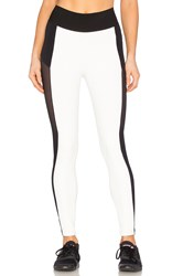 Blue Life Fit Cut It Out Legging Black And White