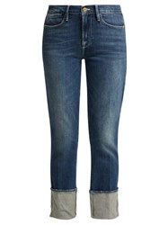Frame Le High Straight Leg Jeans Denim