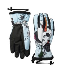 Celtek Loved By A Glove Snowman Snowboard Gloves White
