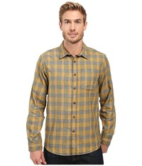 Prana Alabaster Flannel Cargo Green Men's Clothing