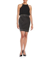 Guess Studded Popover Dress Black