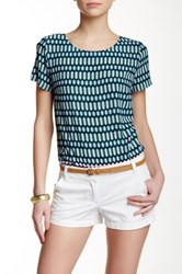 J.Crew Factory Printed Short Sleeve Tee Multi