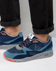 Le Coq Sportif R800 90'S Outdoor Trainers In Blue 1620289 Blue