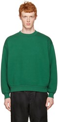 Alexander Wang T By Green Oversized Pullover