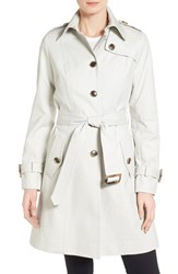Women's Pendleton 'Pacific Crest' Single Breasted Trench Coat Stone