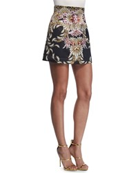 Just Cavalli Fairy Mermaid Mini Skirt Black
