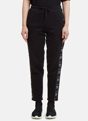 Vetements Wash Separately Tape Track Pants Black