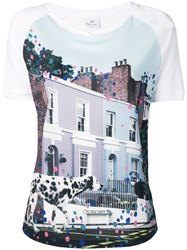 Paul Smith Ps Street T Shirt Blue