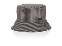 Fendi Men's Reversible Cotton Blend Bucket Hat Blue Yellow