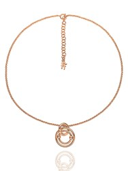 Folli Follie Bonds Rose Gold Necklace