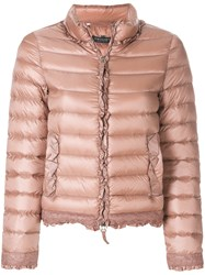 Twin Set Slim Fit Puffer Jacket Feather Down Polyamide Nude Neutrals