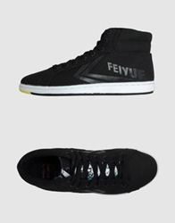 Feiyue High Top Sneakers Dark Green
