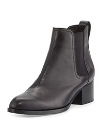 Rag And Bone Walker Leather Ankle Boot Black