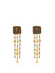 Francesca Villa 18Kt Gold And Antique Coin Earrings Yellow