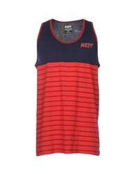 Neff Tank Tops Red