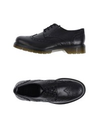 Never Ever Lace Up Shoes Black