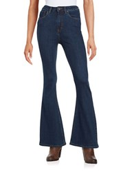Free People Bell Bottom Jeans Blue