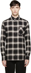 Kolor Grey Check Shirt