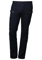 Your Turn Cargo Trousers Dark Blue