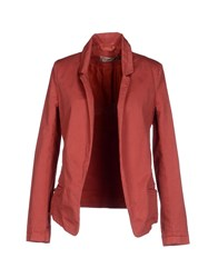 Manila Grace Denim Suits And Jackets Blazers Women Red