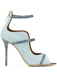 Malone Souliers High Heel Sandals Blue