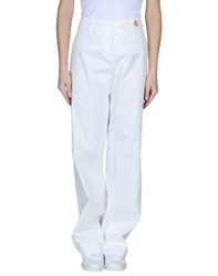 Clips More Trousers Casual Trousers Women White