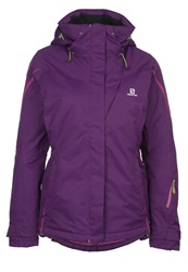 Salomon Supernova Ski Jacket Cosmic Purple
