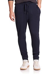 Michael Kors Look Back Merino Wool Pants Charcoal