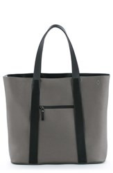 Vessel 'Signature' Leather Tote Bag Metallic