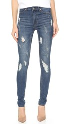 Cheap Monday Second Skin Jeans Carbon Torn