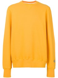 Doppiaa Long Sleeved Jumper Yellow And Orange