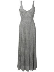Antonino Valenti Polyxena Long Dress Grey