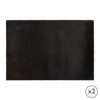 Amara Cowhide Placemats Set Of 2 Natural